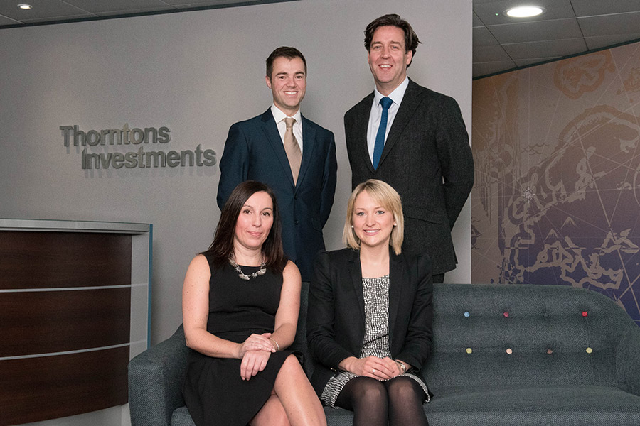 Three strategic appointments expand Thorntons Investments expertise