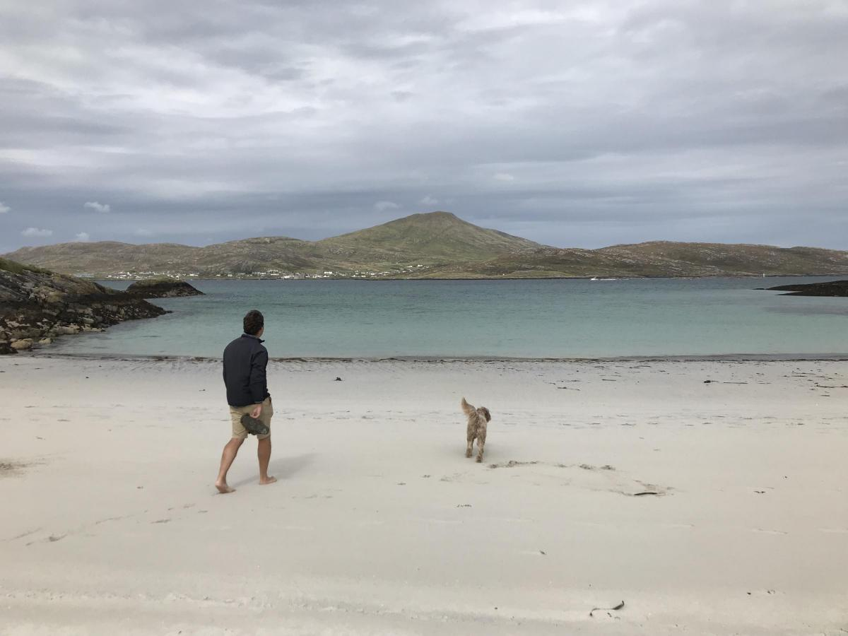 Wealth manager finds riches on Scottish island