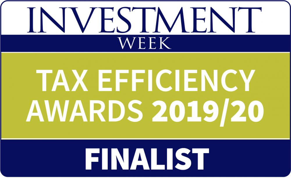 Thorntons Investments shortlisted at the 2019/20 Tax Efficiency Awards