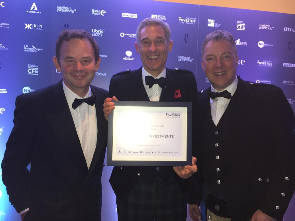 Thorntons Investments named 'Best AIM Portfolio Service Runner Up' at the 2019 Growth Investors Awards